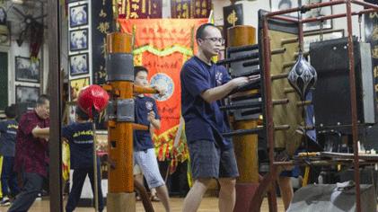 [致我们正在消逝的文化印记——中国功夫]咏春拳
