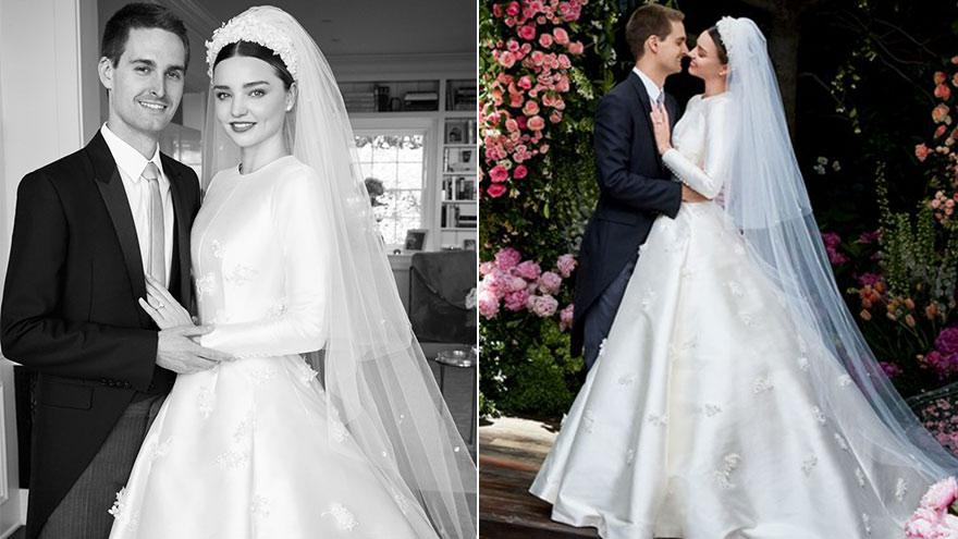 米兰达·可儿婚纱照曝光 与老公幸福相拥
