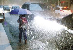 周日起广东省东部有大风暴雨