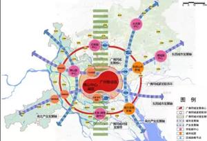 广佛未来将有11条城市轨道相连