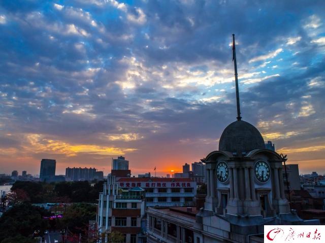 天空如明镜,云彩有柔情:广州的天空看不腻!