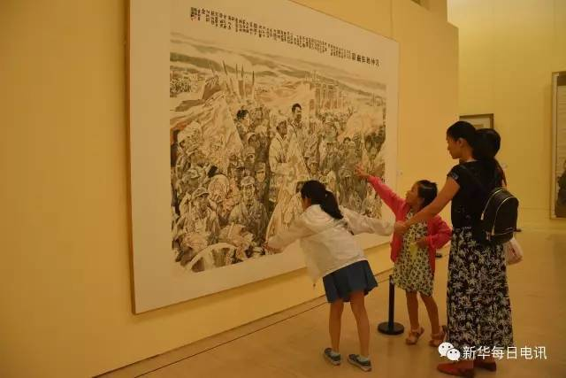 """厉害了!广东美术百年经典在京""""大集结"""""""