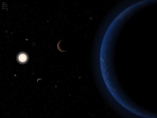 离太阳最近的类太阳恒星:有4颗似地球大小的行星