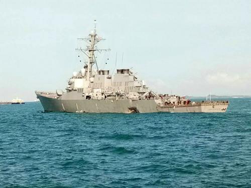 美海军行动全球