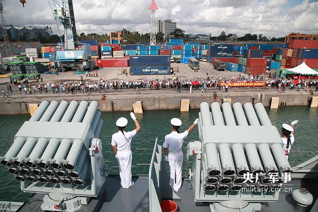 中国海军远航访问编队结束访问离开坦桑尼亚