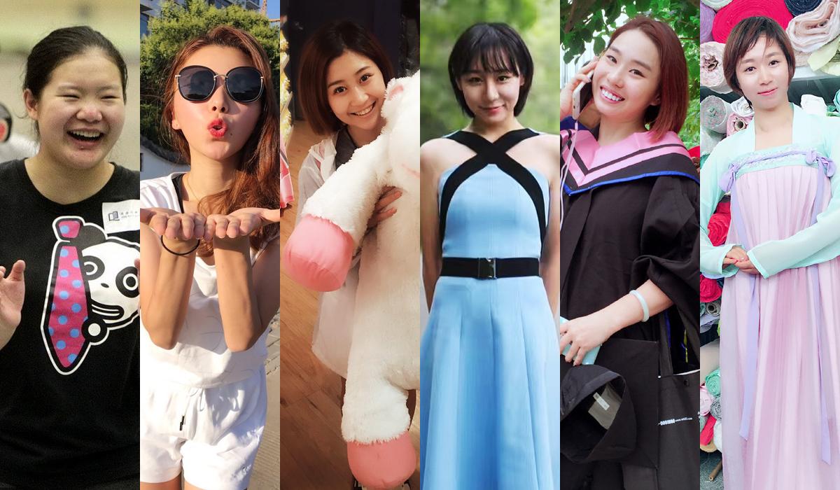 九年过去了,六位姑娘都已经长大成人,一个比一个漂亮标致呢。