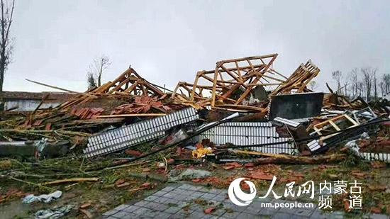 内蒙古赤峰境内遭龙卷风袭击,已致5人死亡50余人受伤