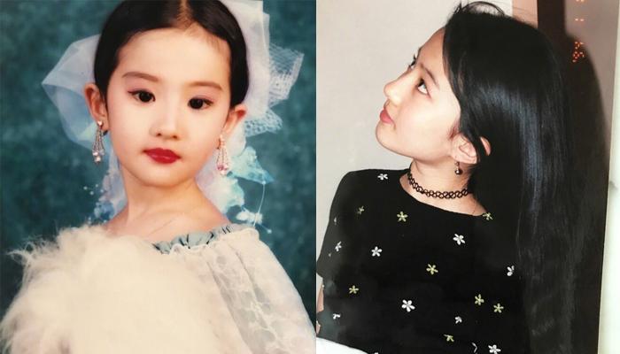 从小美到大!刘亦菲童年美照曝光 一双明眸动人