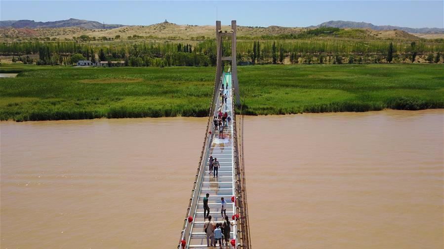 国内首座横跨黄河3D玻璃桥亮相!你敢来挑战吗?