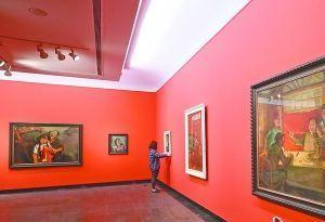 走起!去广东美术馆看百年大展 领略岭南名家风采