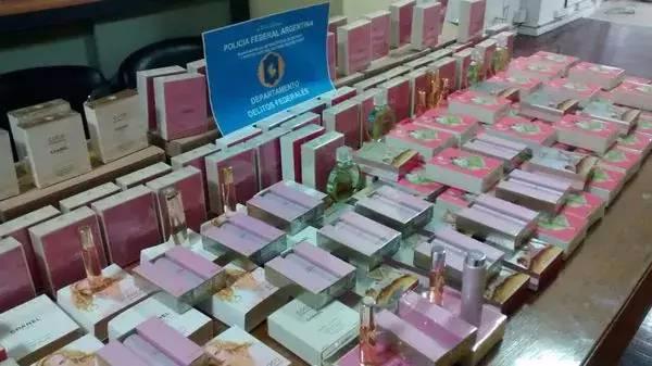 大量中国假冒香水涌入阿根廷市场 1名中国人被调查