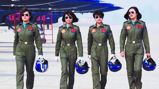 BBC:全球仅16个国家军队有女飞行员 中国数量最多