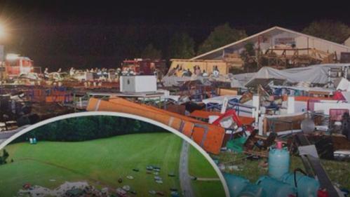 奥地利突刮强风吹翻活动帐篷 致2人死120人伤