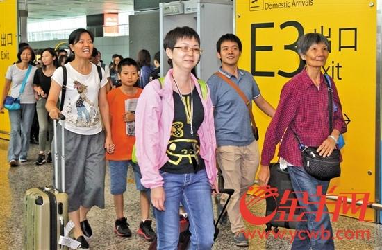29名广东游客平安归来 地震亲历者讲述惊慌与感动