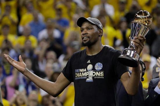 KD:厄文勒布朗不和在NBA很常见 相信他们能搞定