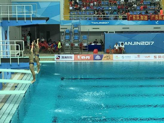 曹缘谢思埸3米板夺冠 北京成跳水目前最大赢家