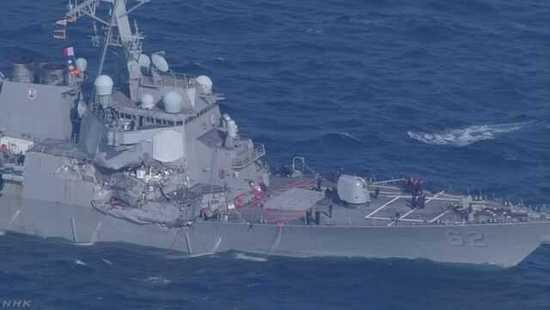 美国承认美菲撞船事故责任 包括舰长在内3人遭解职