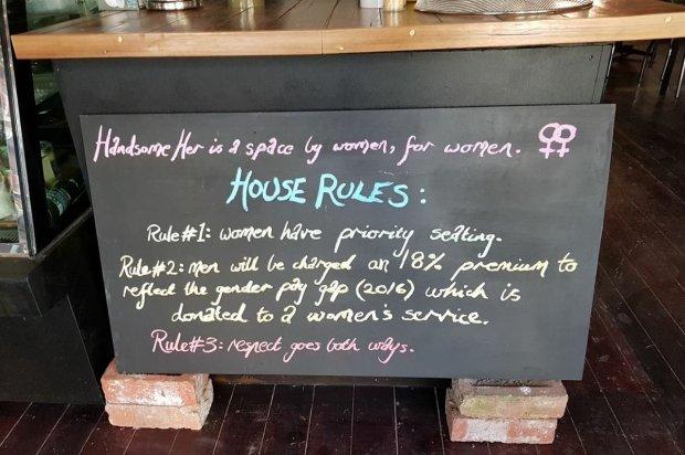 为争取男女平等 澳大利亚一咖啡厅征收