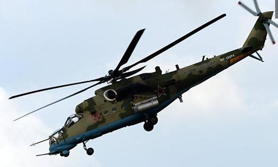 俄方:准备在商业模式上向阿富汗提供米-35直升机