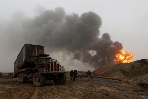 """叙政府军解放战略要地摧毁""""伊斯兰国""""大型据点"""