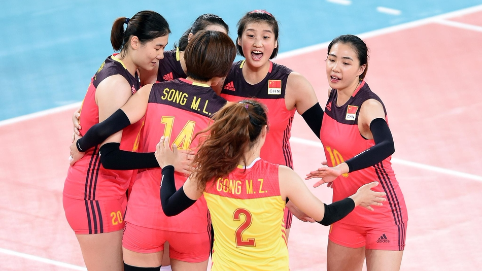 U23女排世锦赛中国4-0泰国