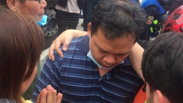 墨西哥地震1名受困台胞获救 其余4人仍未有消息