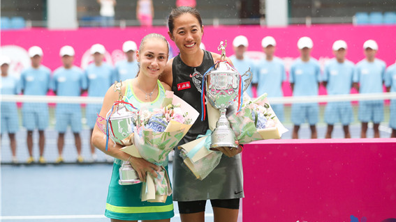 霸气!张帅再夺广网女单冠军 为中国赛季开个好头