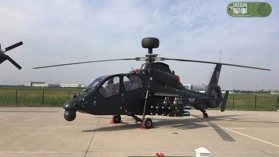 美媒:中国武直性能有突破 直19安装毫米波雷达