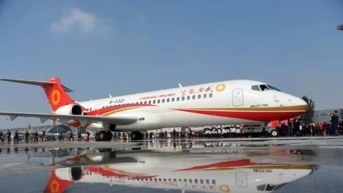 两大国产客机首次比翼 C919已获超过750架订单