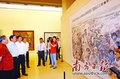 慎海雄谈广东美术:坚定文化自信,再创新的经典