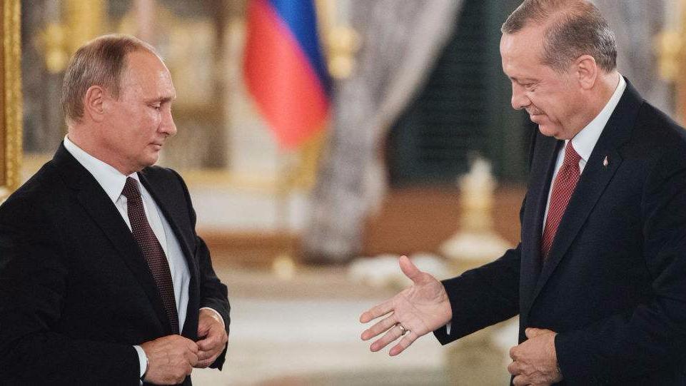 普京访土耳其或谈S400导弹合同 北约神经紧绷