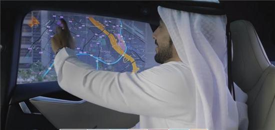在迪拜打出租车,你可能坐上特斯拉自动驾驶汽车