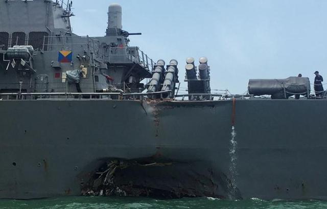 活太多、钱不稳、无视安全:美海军检讨撞船原因