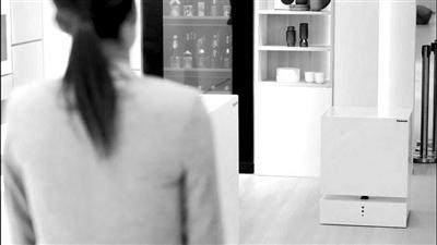 """听得懂""""召唤""""的机器人冰箱"""