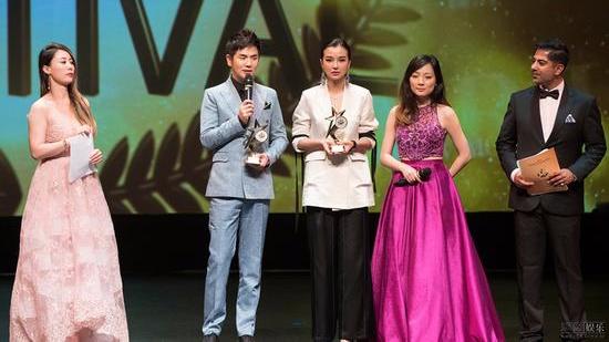 张晓龙获金枫叶国际电影节最佳男演员