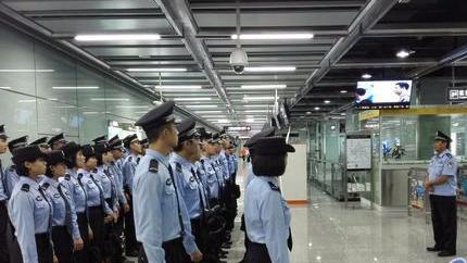 学警出更!2368名学警整装集结 助力广州地铁安保