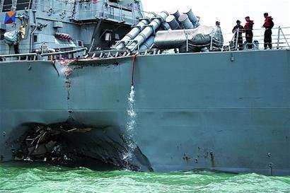 本可避免的撞船最后还是撞了 美军舰长遭解职