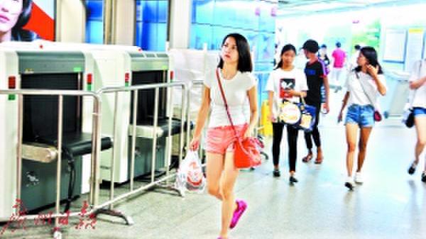广州街坊注意了!明天起广州6个地铁站率先升级安检