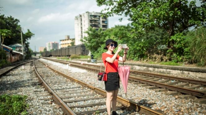 """广州老铁路有望变身为""""高线公园"""""""