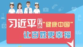 """【原创图解】习近平打造""""健康中国""""让百姓更幸福"""