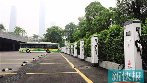 广州力争明年全面实现公交电动化 保有7万个充电桩力