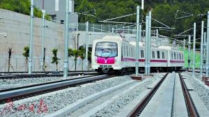 广州地铁四号线全线跑图试运行 南延线有望年底开通