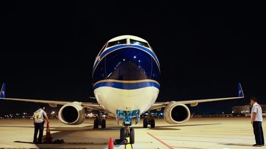 12日零时起,白云机场二号航站楼停机坪正式启用