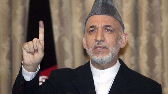 阿富汗前总统卡尔扎伊批评美国对阿新战略