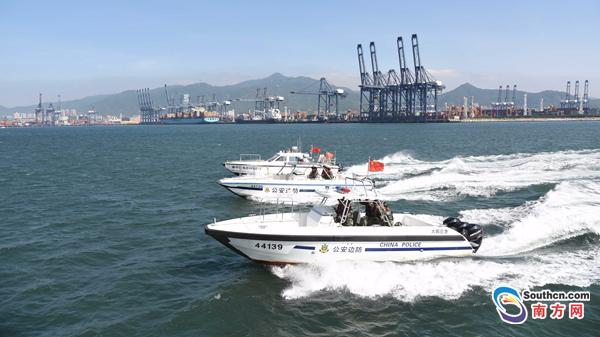 深圳、香港联手举行海上演练反偷渡客