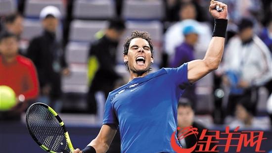 上海网球大师赛:纳达尔迪米打出经典战 纳达尔晋级