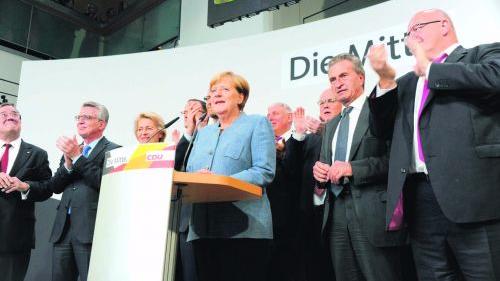 德国:2017年联邦议院选举计票结果出炉