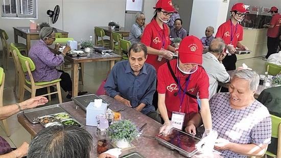 广州长者助餐点超500个 今年内将实现街镇全覆盖