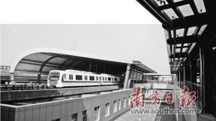 未来交通要开挂了!广州将建设南北向快速轨道交通走廊