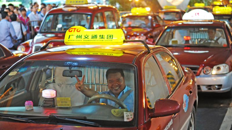 """广州全力保障广交会公共交通服务 展馆区域可""""一键约车"""""""